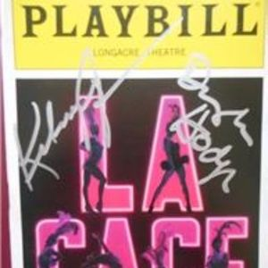 La Cage aux Folles Signed Playbill Kelsey Grammer